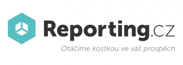 Reporting.cz –nové logo