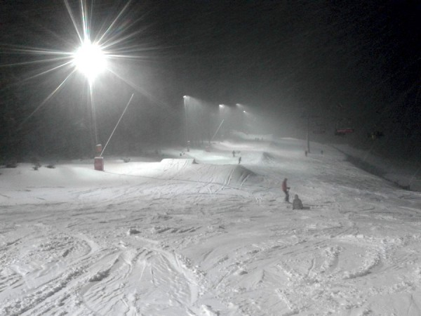 Snowboard fun park